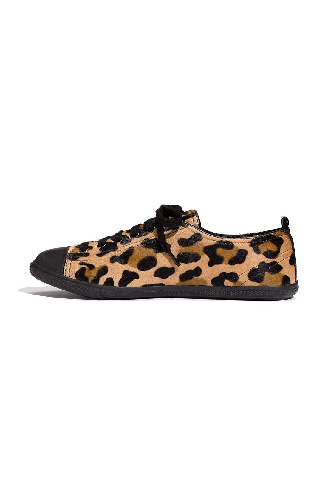 Alternate Image 2  - Prada Leopard Print Sneaker