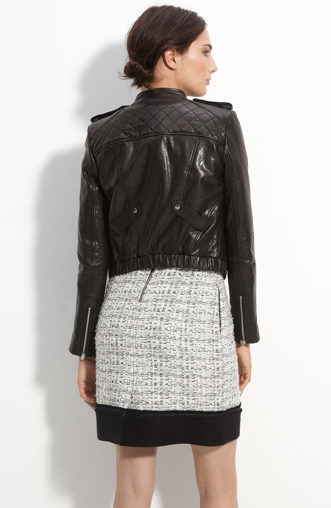 Alternate Image 2  - Mcginn 'Olivia' Quilted Leather Jacket
