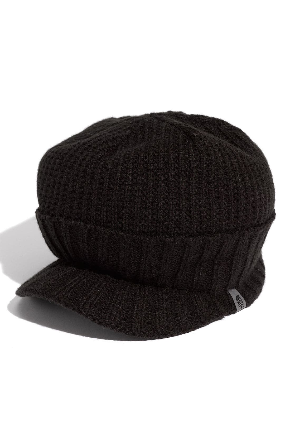 Alternate Image 2  - The North Face 'GTO' Rib Knit Visor Beanie (Men)