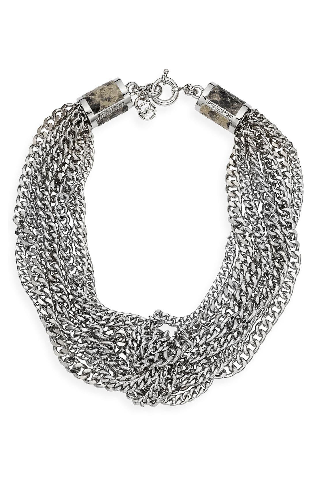 Main Image - Michael Kors Multi Chain Necklace