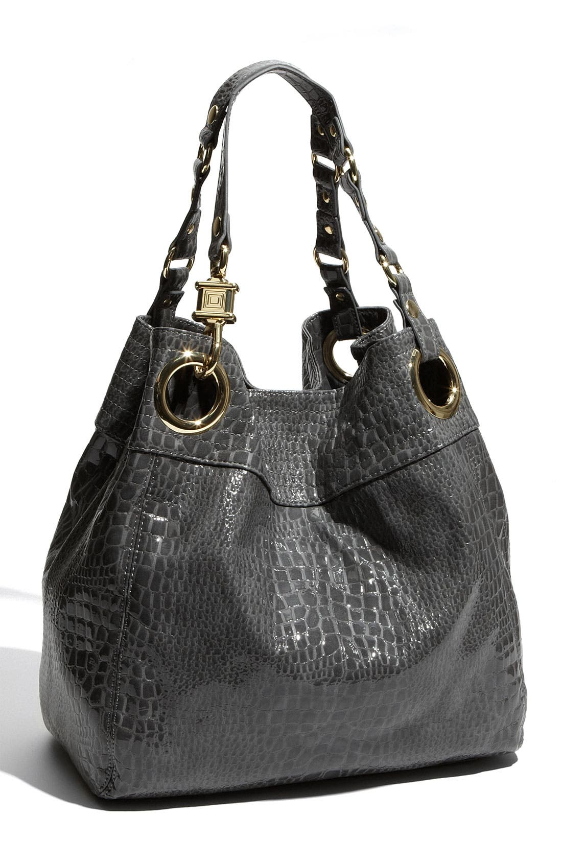 Alternate Image 1 Selected - Steven by Steve Madden 'Candy Coated' Croc Embossed Tote