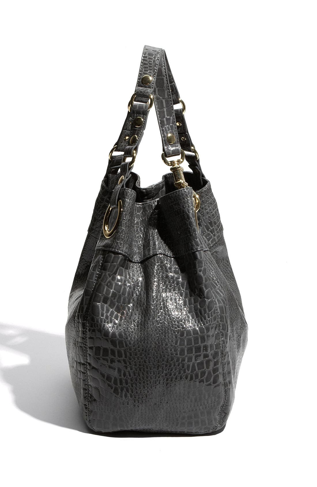 Alternate Image 2  - Steven by Steve Madden 'Candy Coated' Croc Embossed Tote
