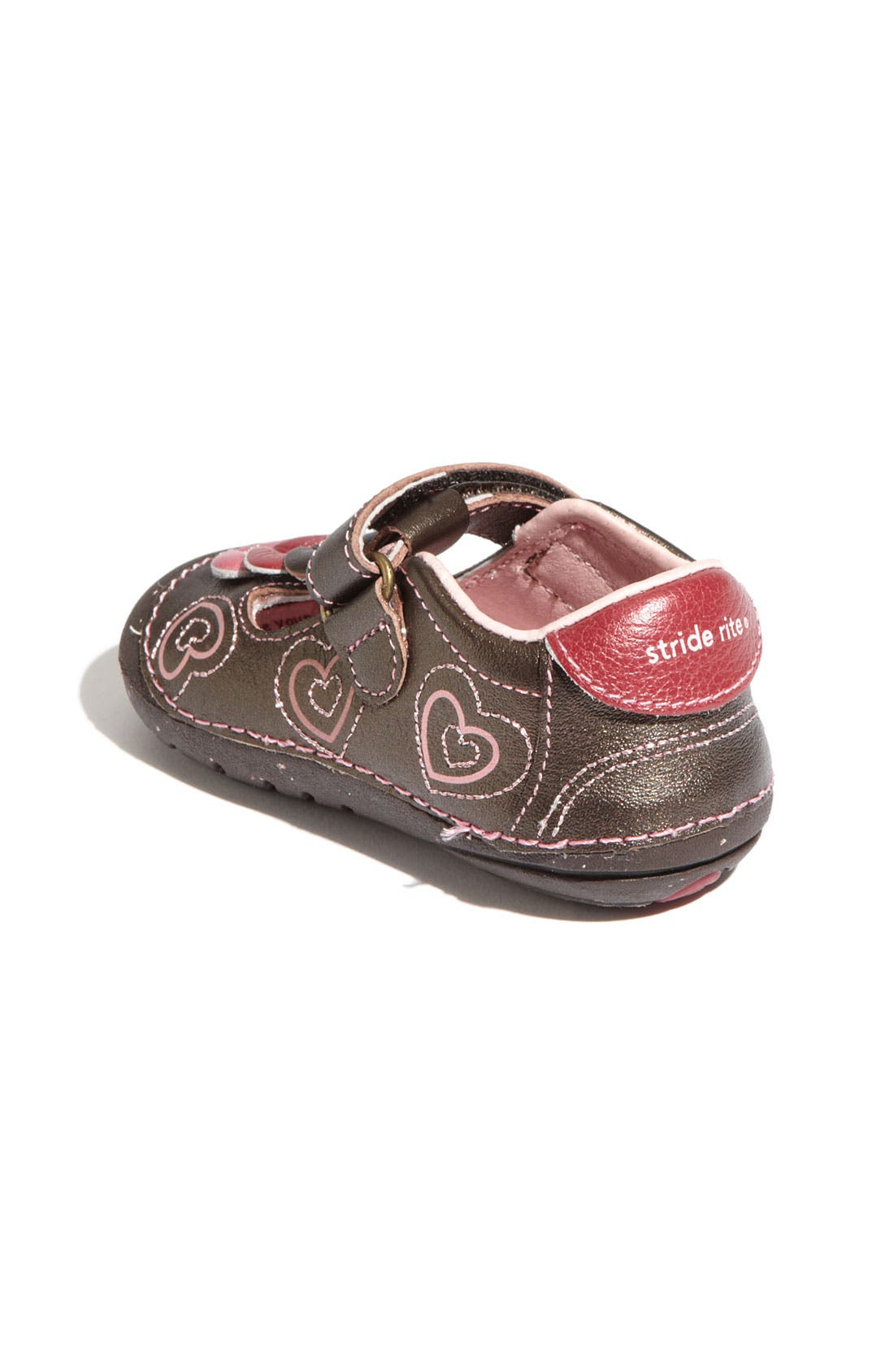 Alternate Image 3  - Stride Rite 'Ava' T-Strap Mary Jane (Baby & Walker)