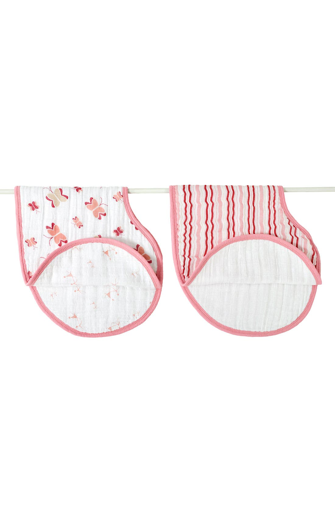 Alternate Image 1 Selected - aden + anais 2-Pack Classic Burpy Bibs