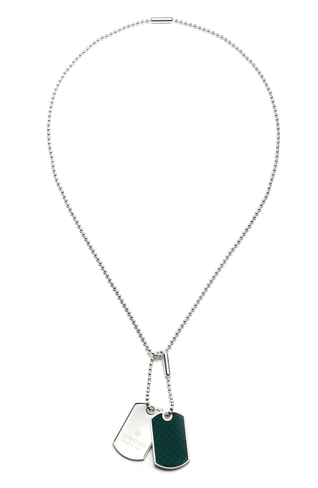 Main Image - Gucci Dog Tag Necklace