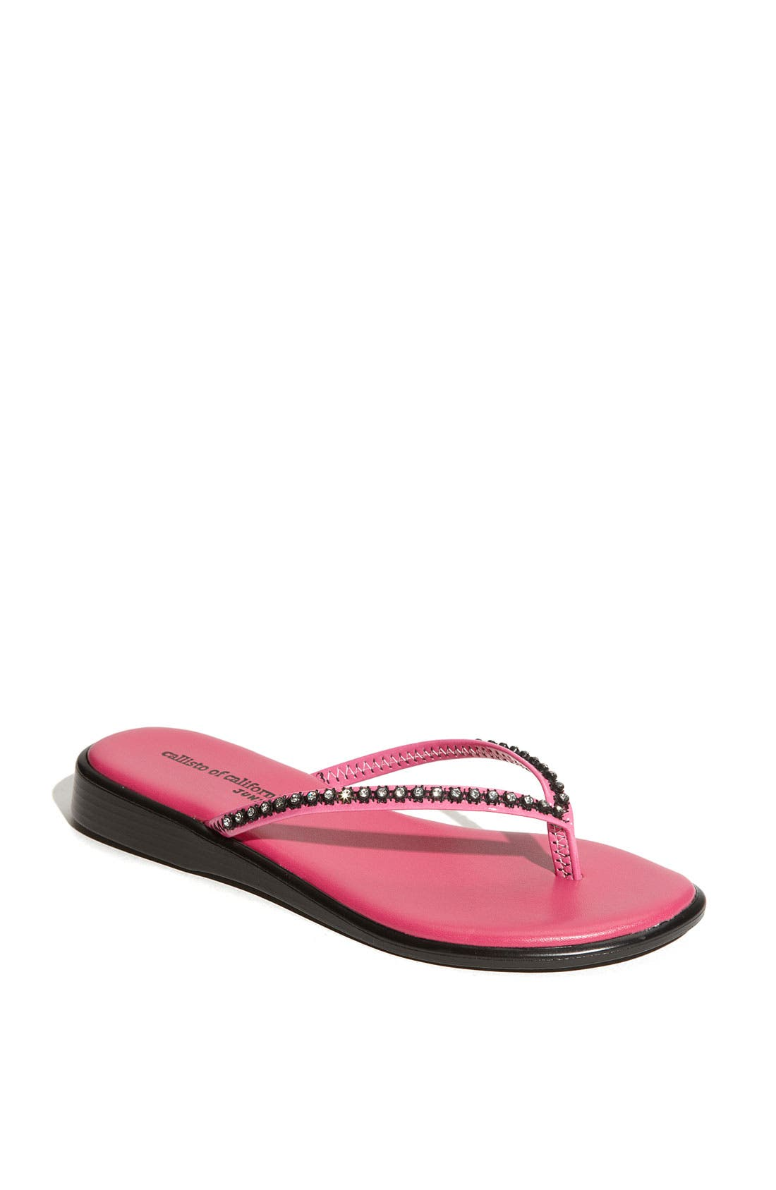 Alternate Image 1 Selected - Callisto 'Girly' Flip Flop (Toddler, Little Kid & Big Kid)