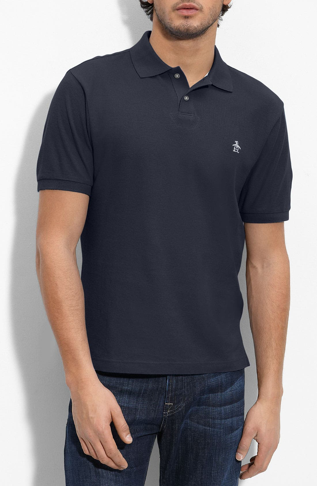 Main Image - Original Penguin 'The Daddy O' Classic Fit Piqué Polo