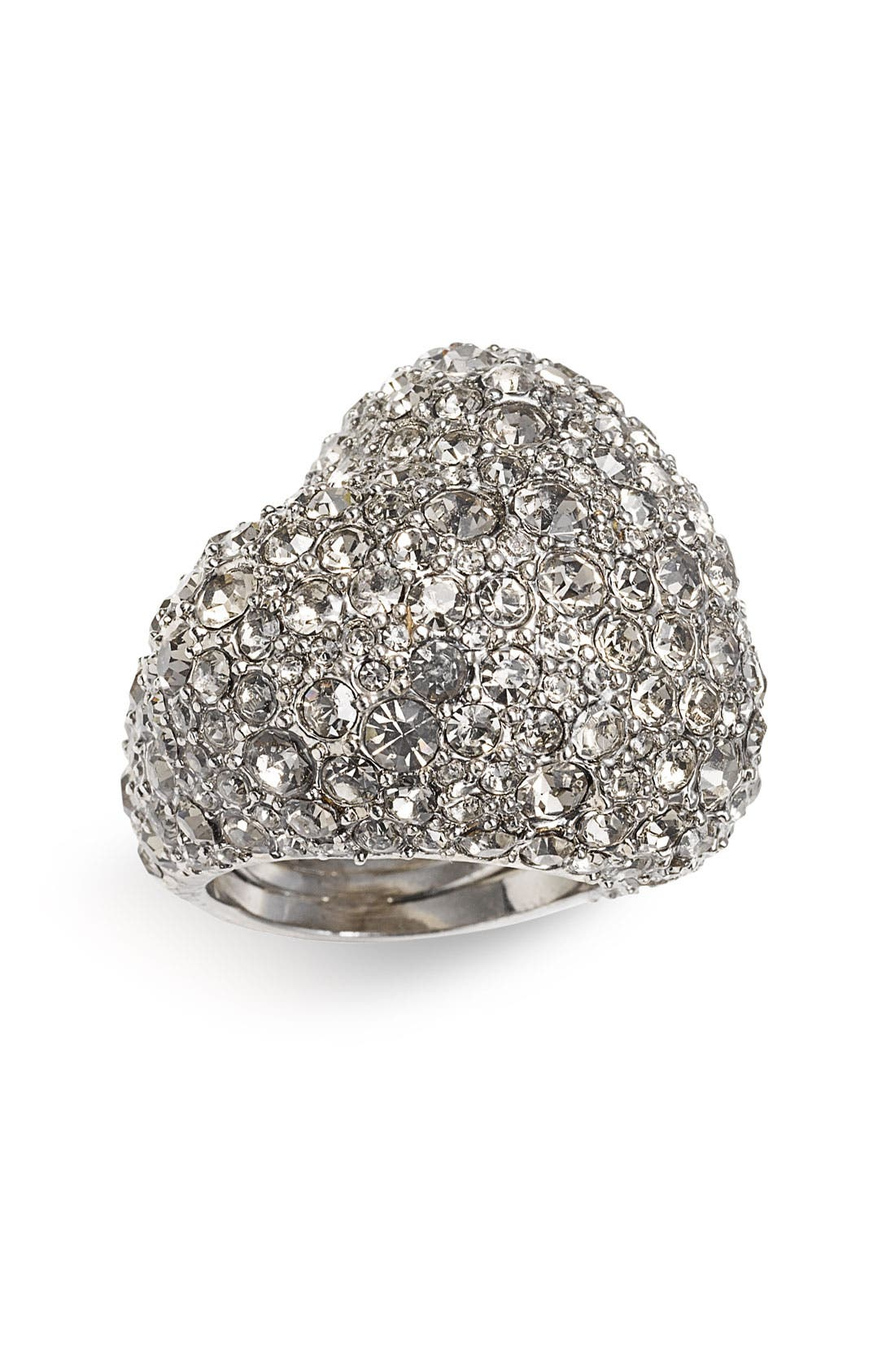 Alternate Image 1 Selected - MARC BY MARC JACOBS Boxed Pavé Heart Ring