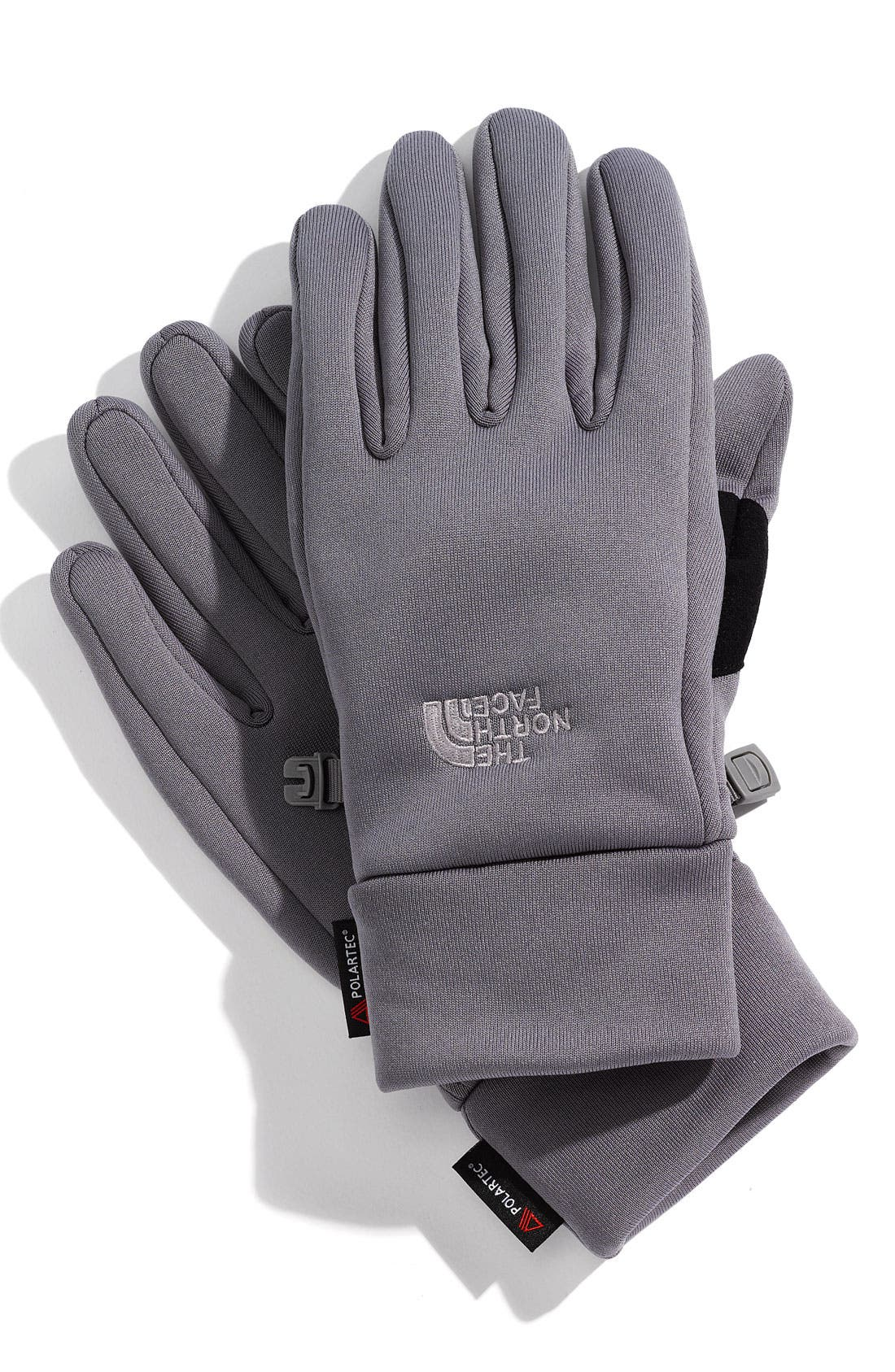 Alternate Image 1 Selected - The North Face 'Power Stretch' Polartec® Gloves (Men)