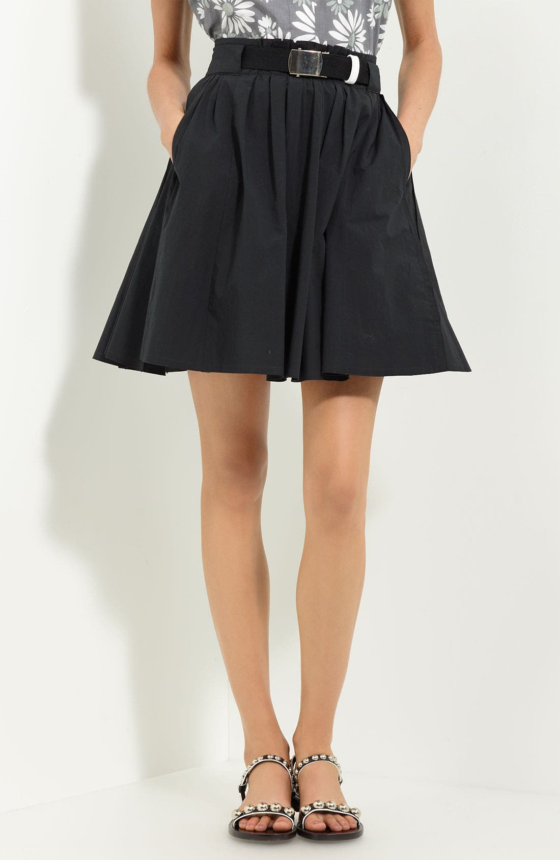Main Image - MARC JACOBS Washed Cotton Skirt