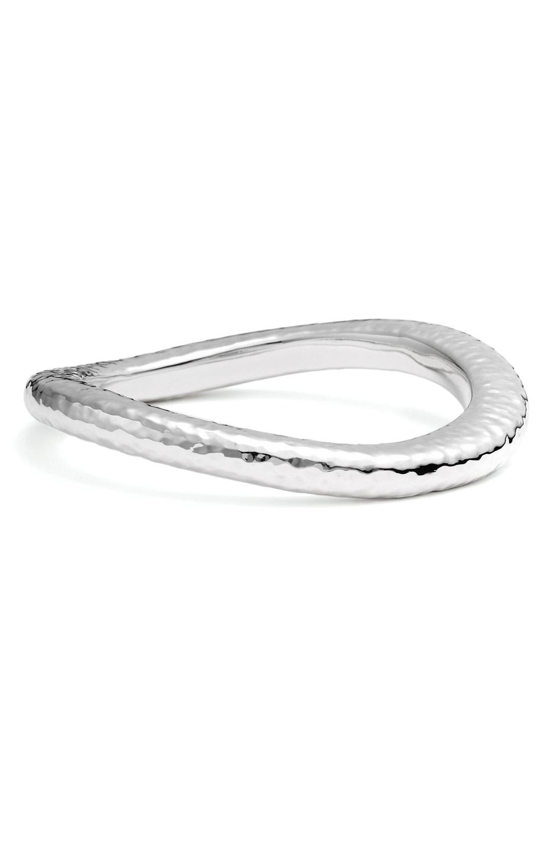 Alternate Image 1 Selected - Simon Sebbag Hammered Skinny Wavy Bangle
