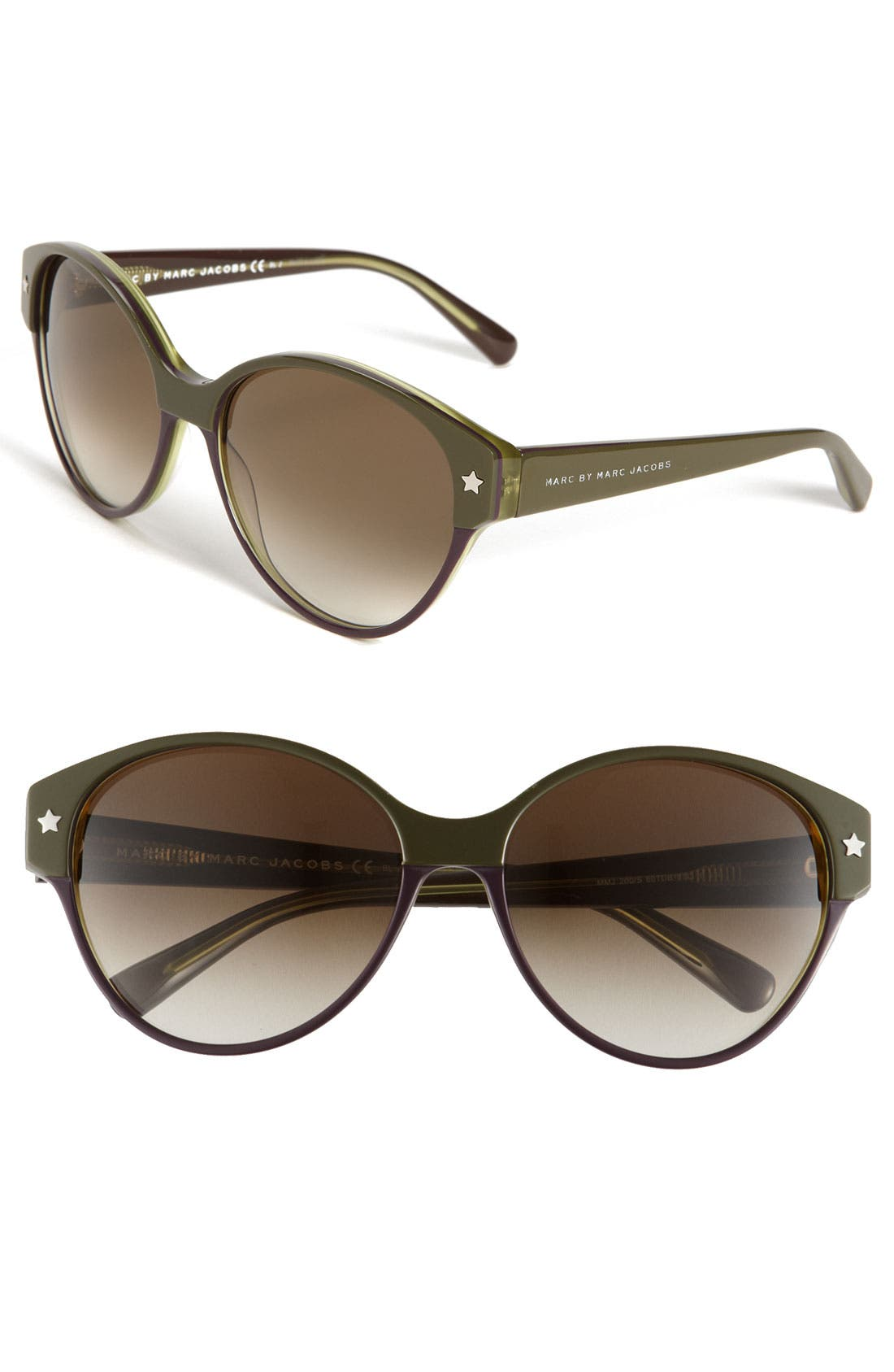 Alternate Image 1 Selected - MARC BY MARC JACOBS 'International Collection' 57mm Sunglasses