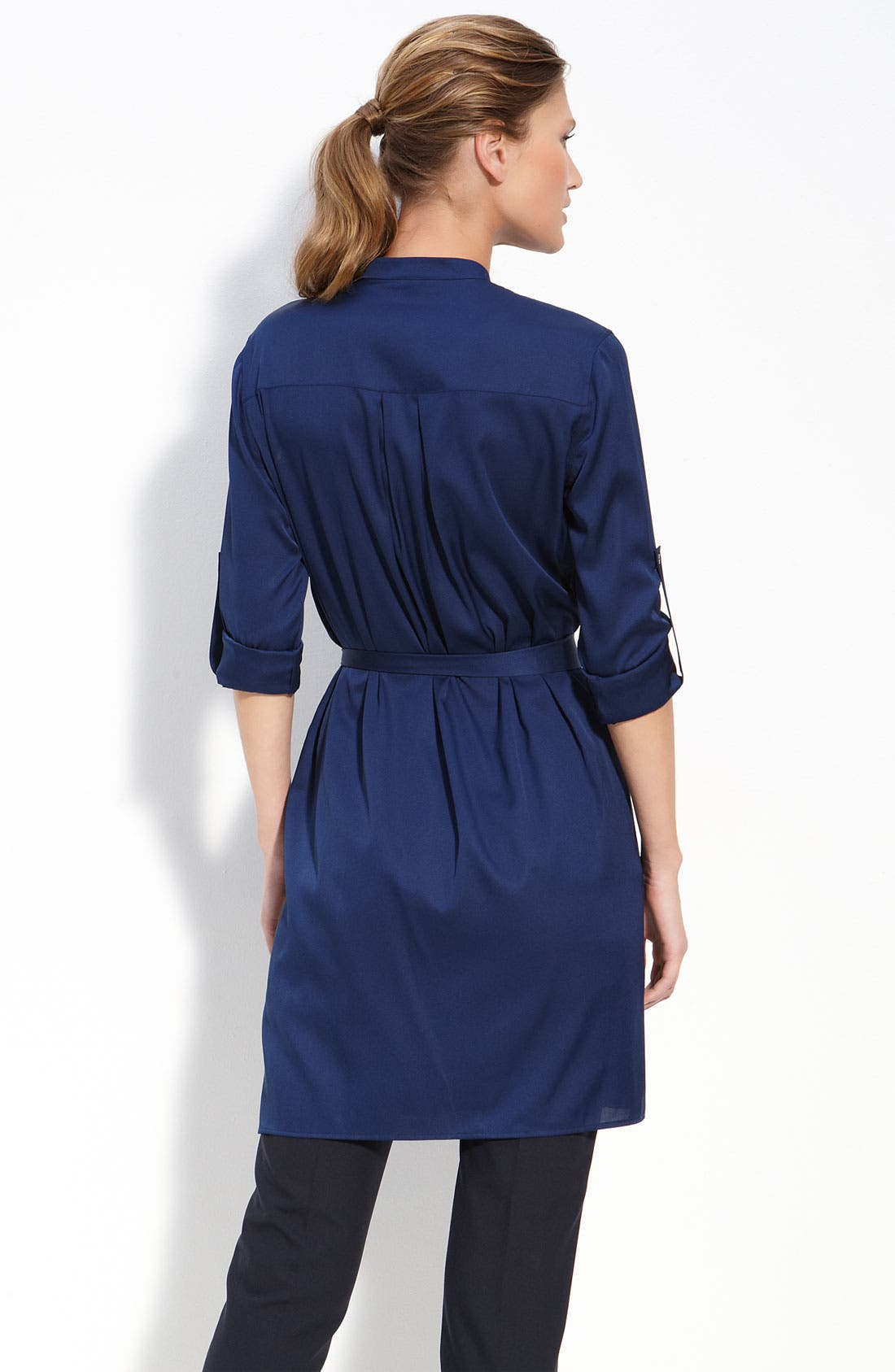 Alternate Image 2  - Vince Silk Shirtdress