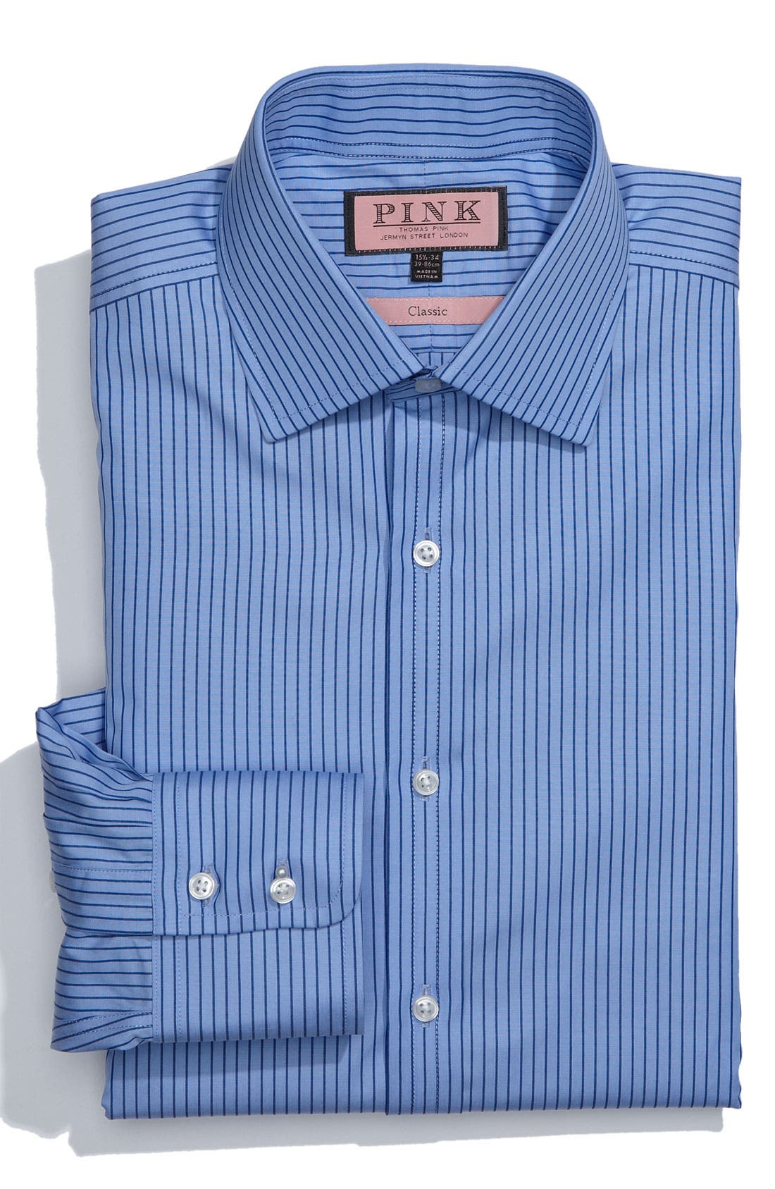 Alternate Image 1 Selected - Thomas Pink Classic Fit Dress Shirt
