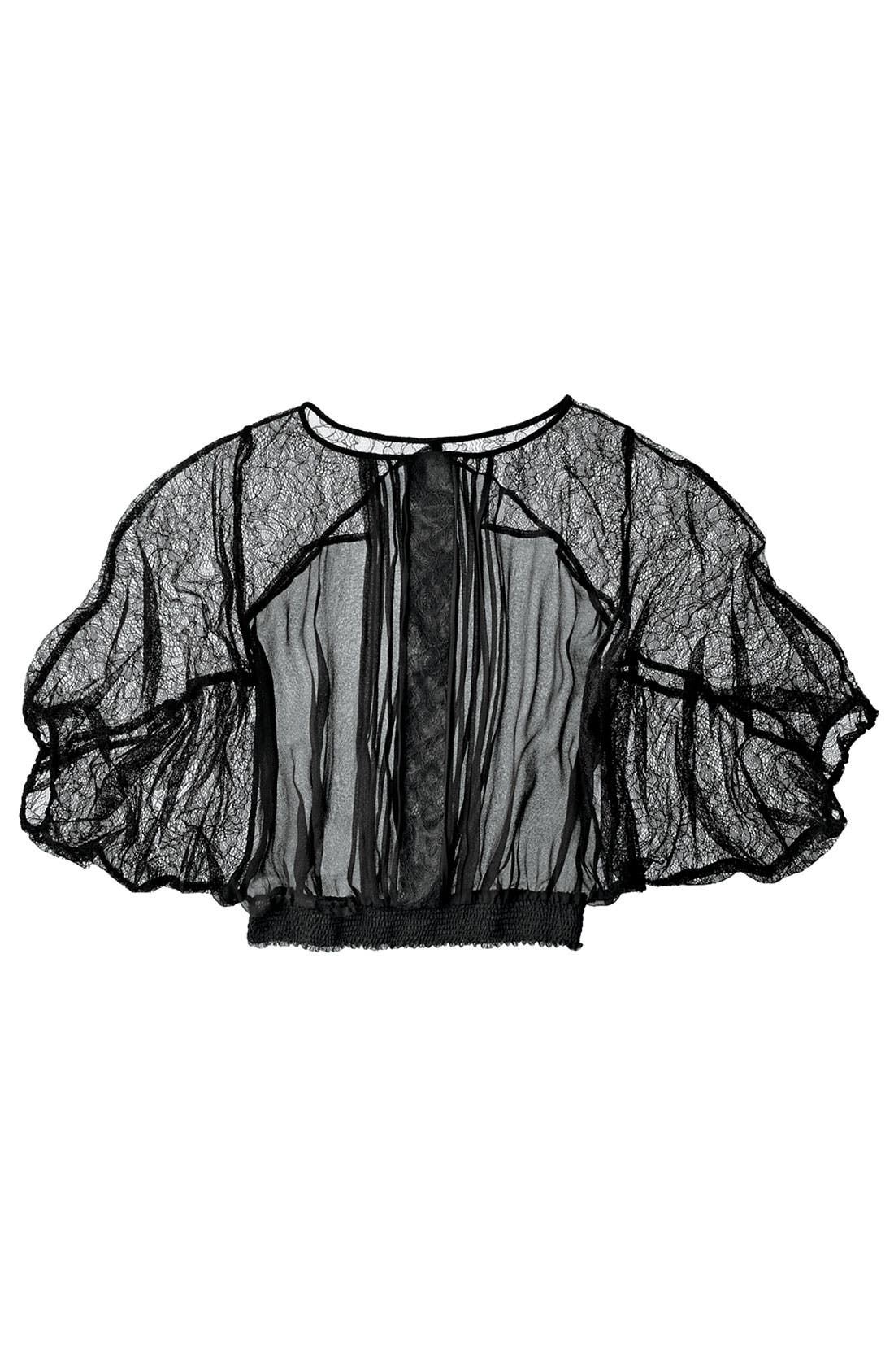 Alternate Image 3  - Bellatrix Lace & Chiffon Top