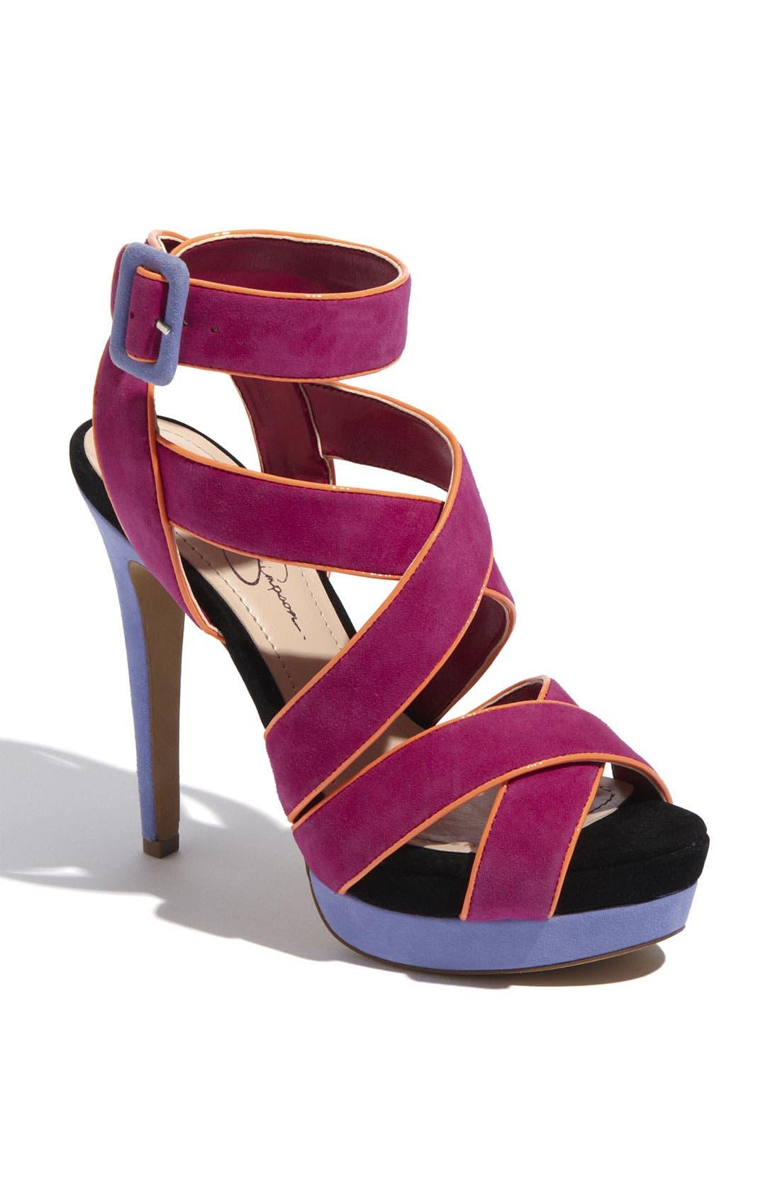 Alternate Image 1 Selected - Jessica Simpson 'Evangela' Sandal