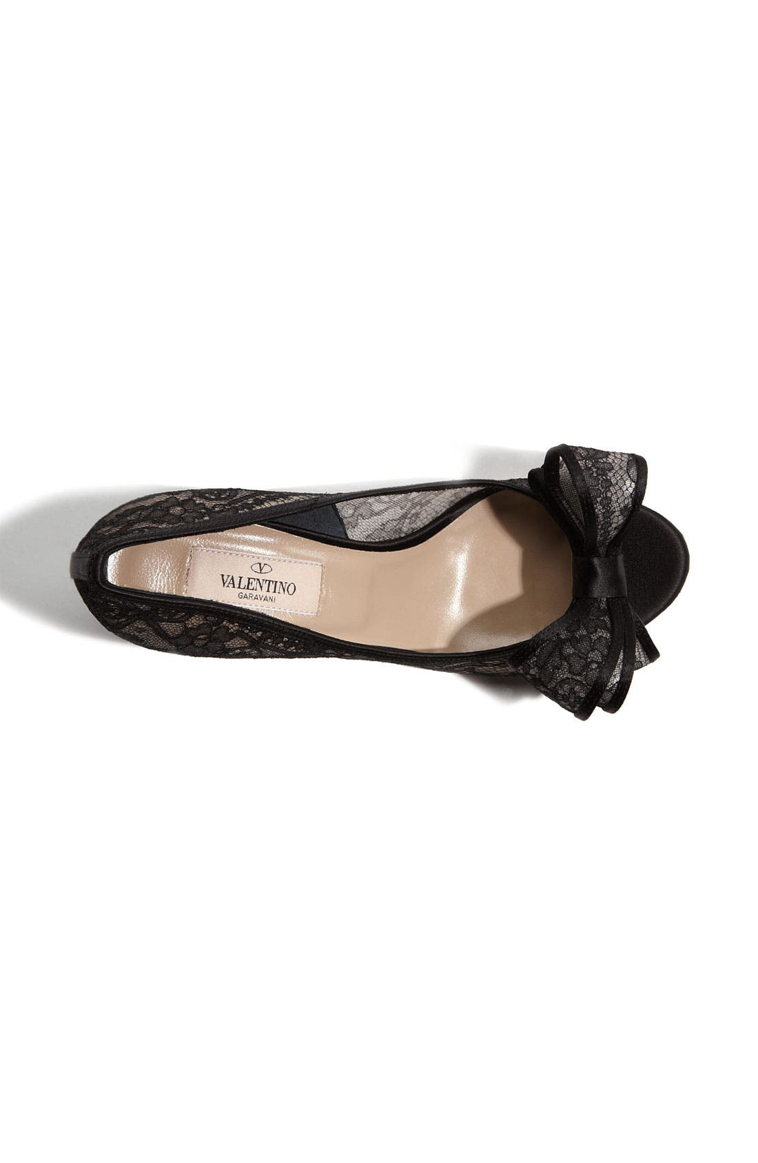 Alternate Image 3  - Valentino Lace Couture Bow Pump
