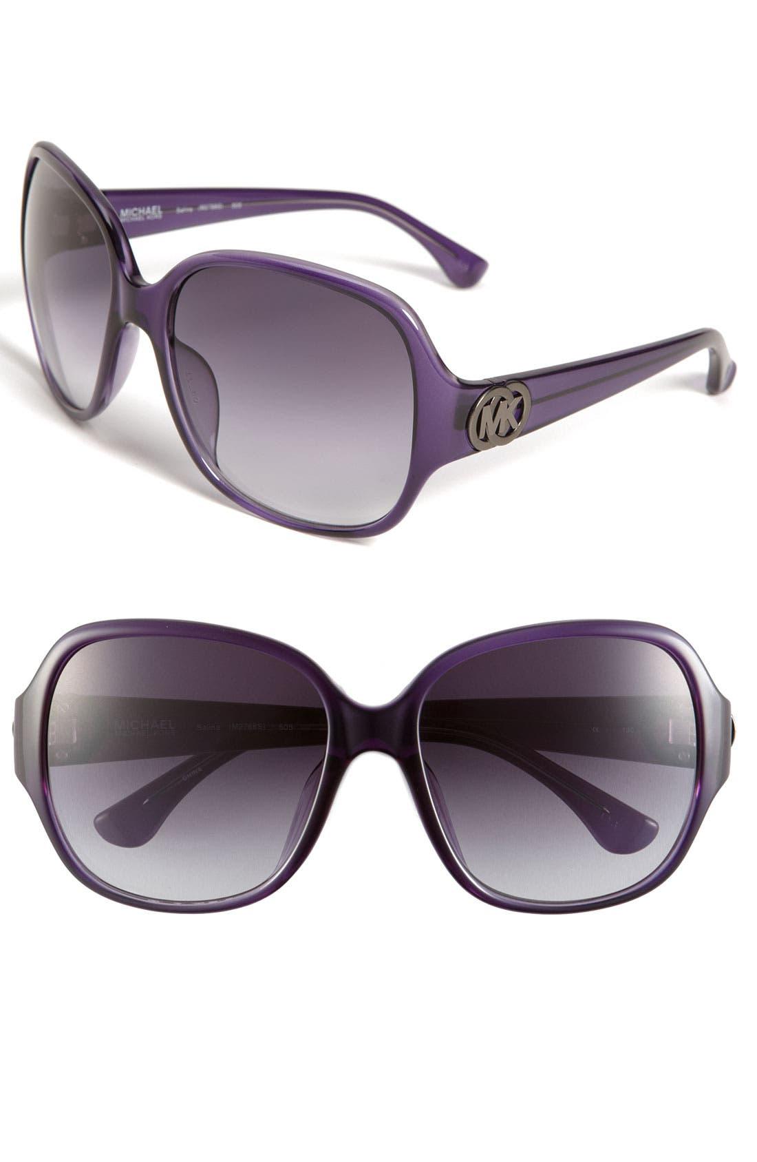 Alternate Image 1 Selected - MICHAEL Michael Kors Square Sunglasses