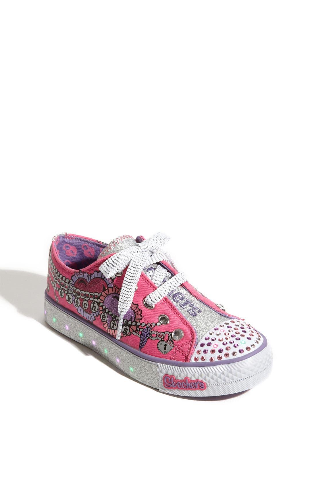 Alternate Image 1 Selected - SKECHERS 'Peekaboo - Dream Jumper' Sneaker (Toddler, Little Kid & Big Kid)