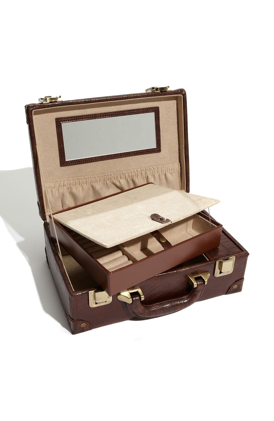 Alternate Image 2  - Nordstrom LusterLoc™ Jewelry Suitcase