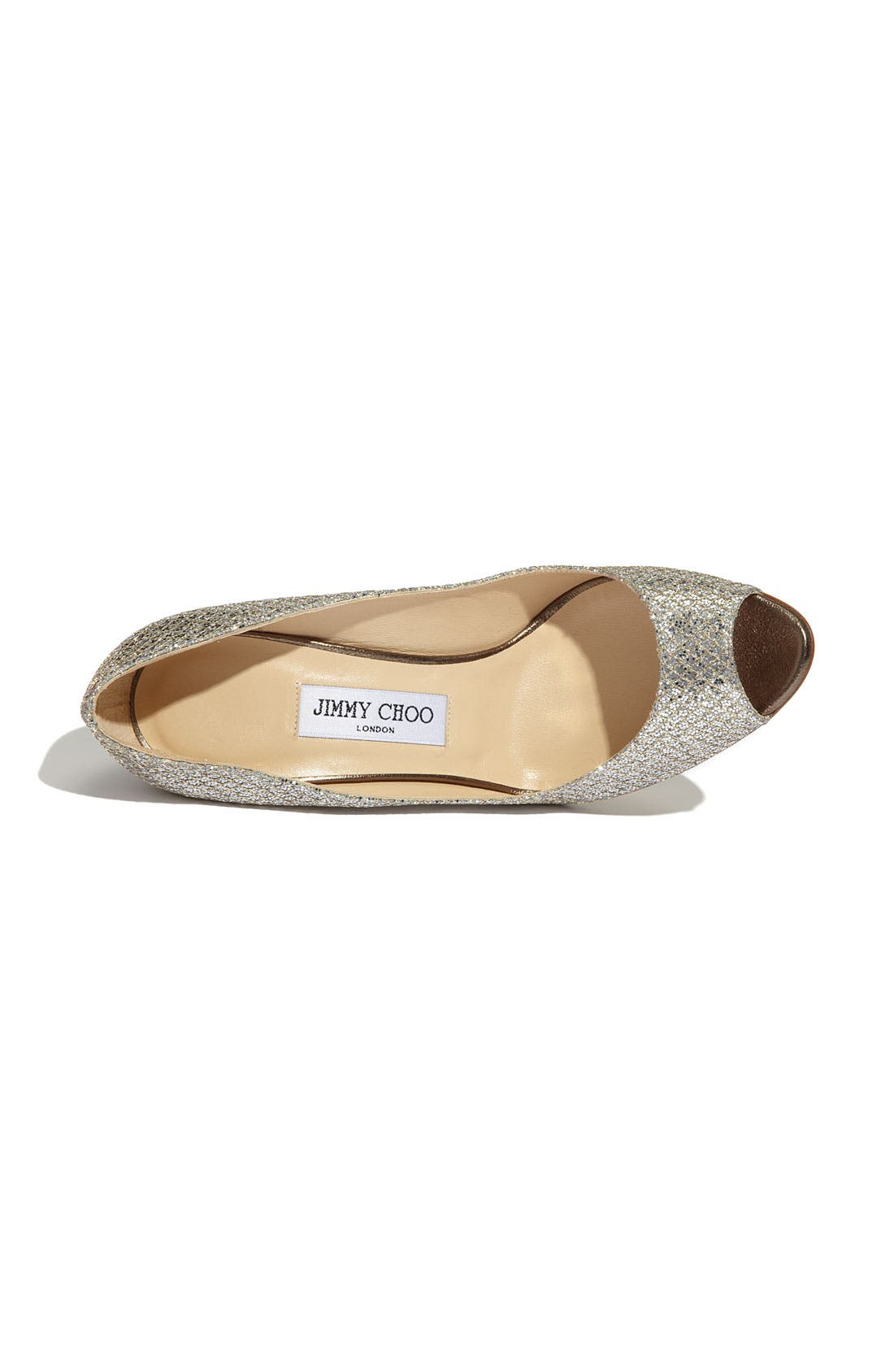 Alternate Image 3  - Jimmy Choo 'Bello' Glitter Wedge