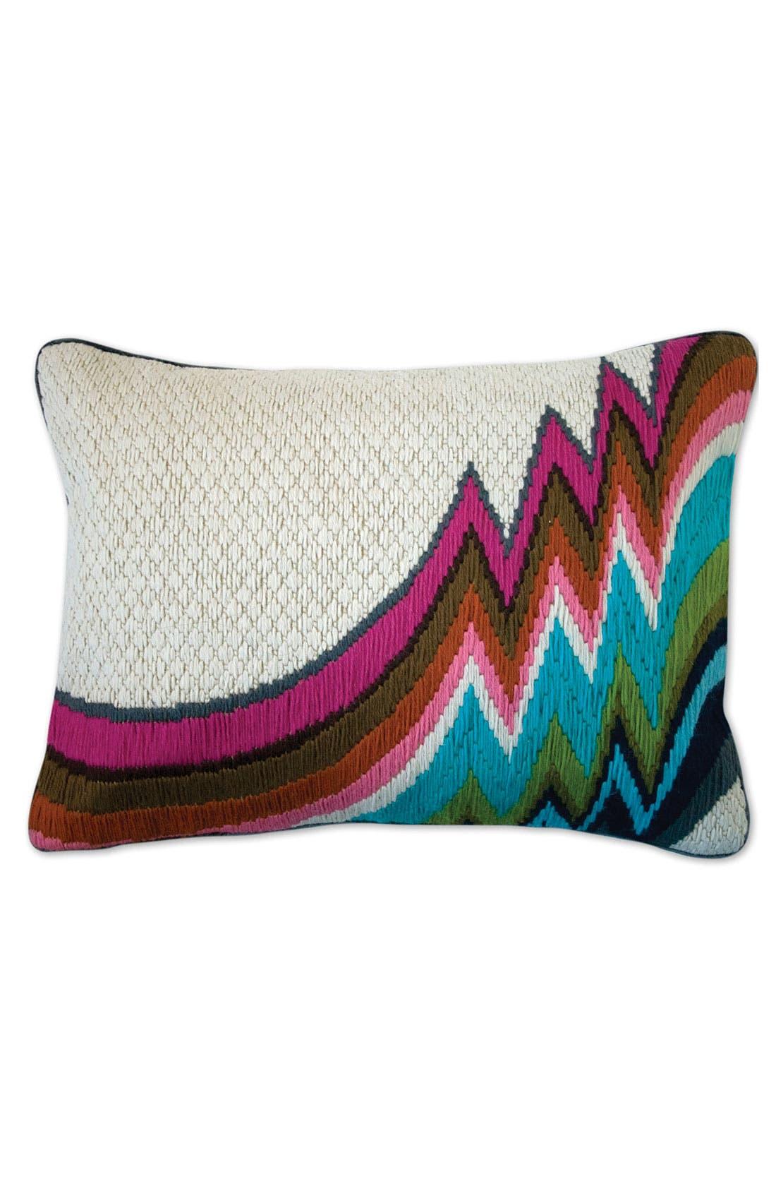 Main Image - Jonathan Adler 'Jamaica Lane Bargello' Pillow