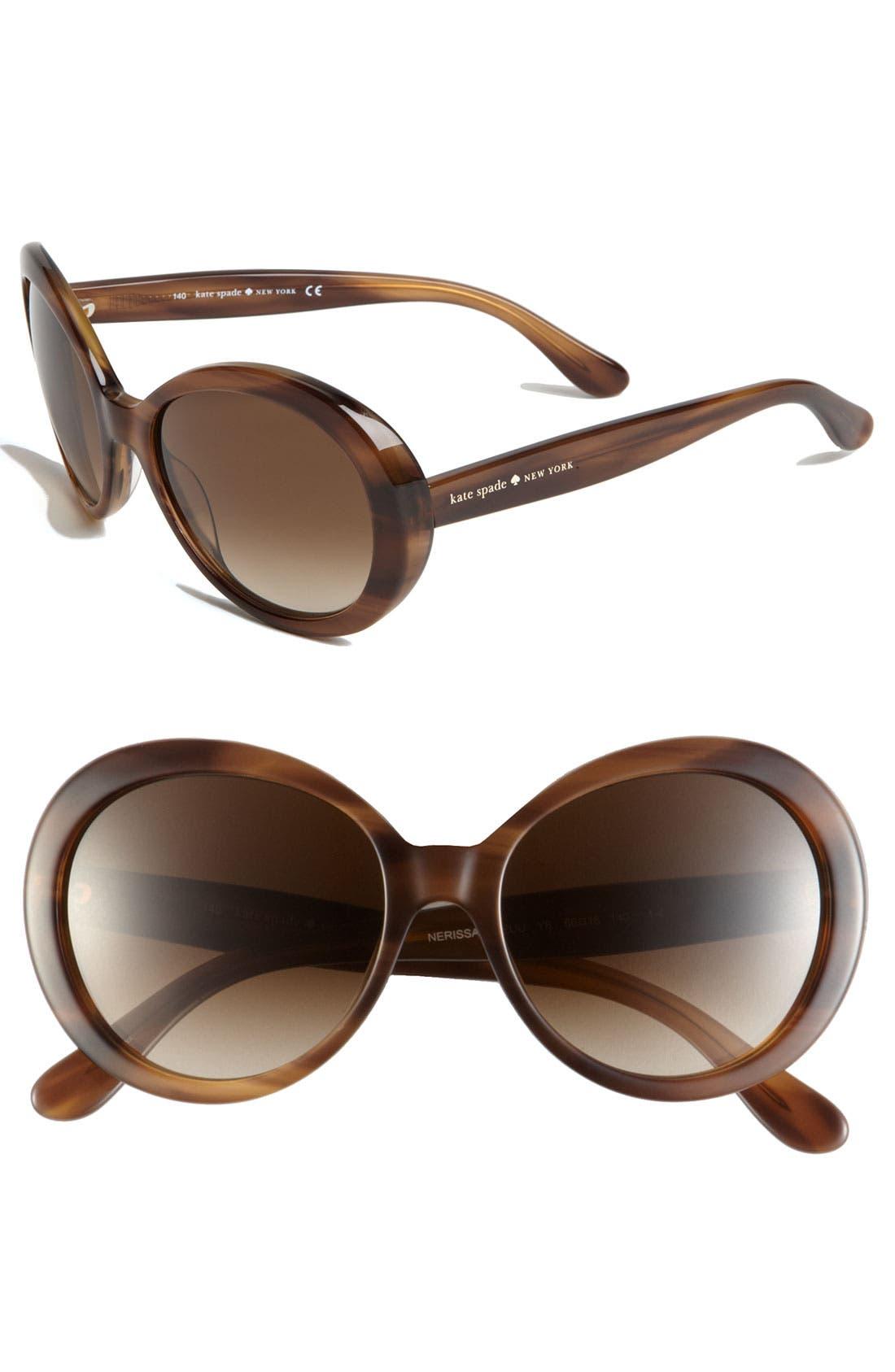 Alternate Image 1 Selected - kate spade new york retro sunglasses