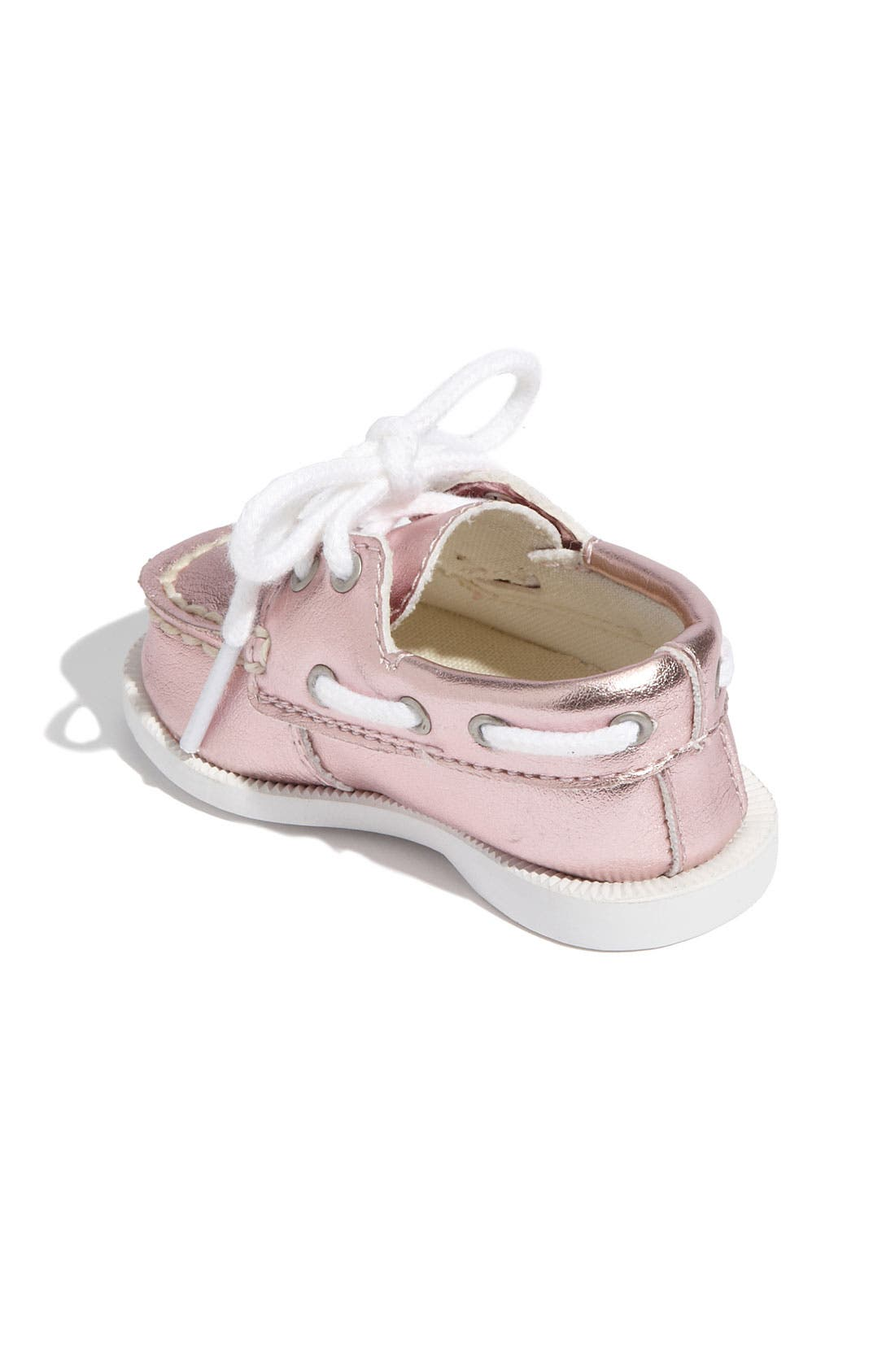 Alternate Image 2  - Sperry Top-Sider® 'Authentic Original' Crib Shoe (Baby)