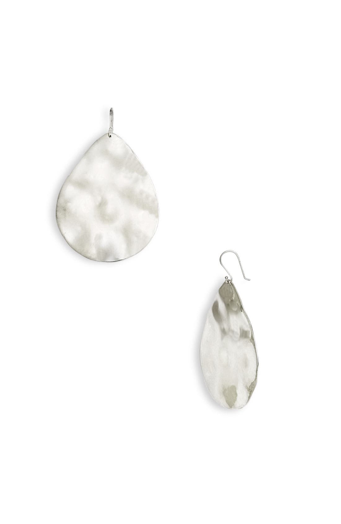 Alternate Image 1 Selected - Ippolita Large Wavy Teardrop Earrings