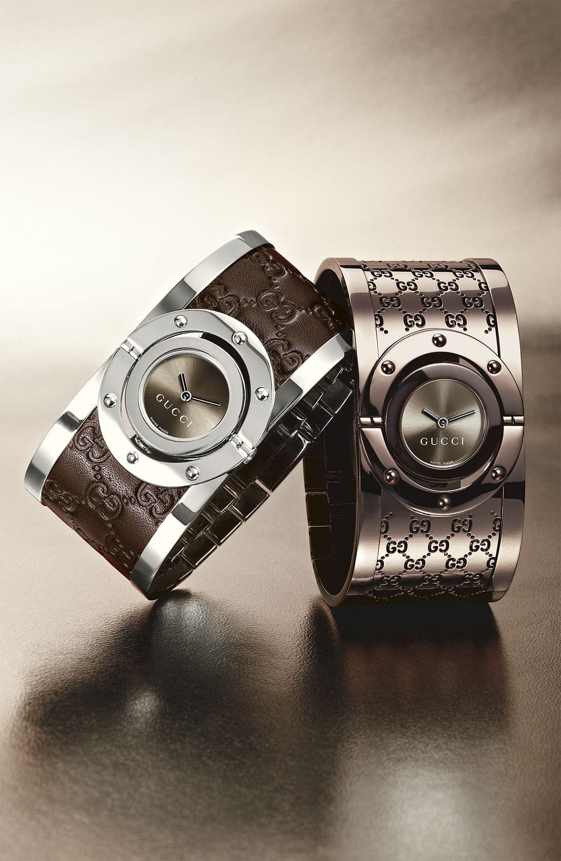 Alternate Image 2  - Gucci 'Twirl Collection' Watch, 23mm