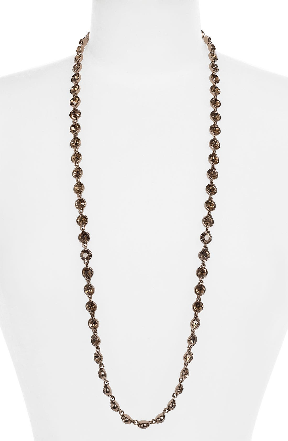 Alternate Image 1 Selected - Givenchy Crystal Station Long Necklace (Nordstrom Exclusive)
