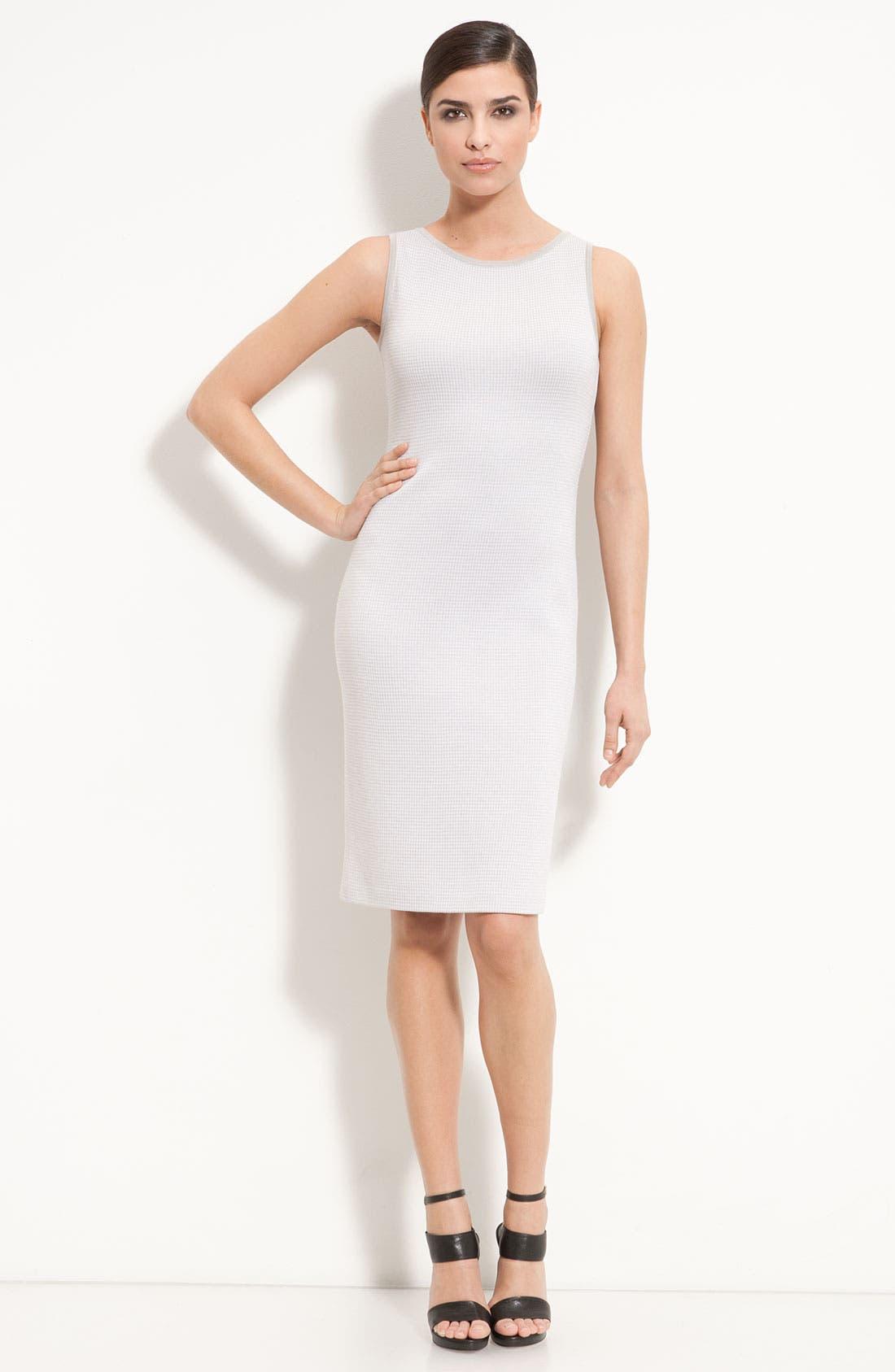 Main Image - St. John Collection Sleeveless Knit Sheath Dress
