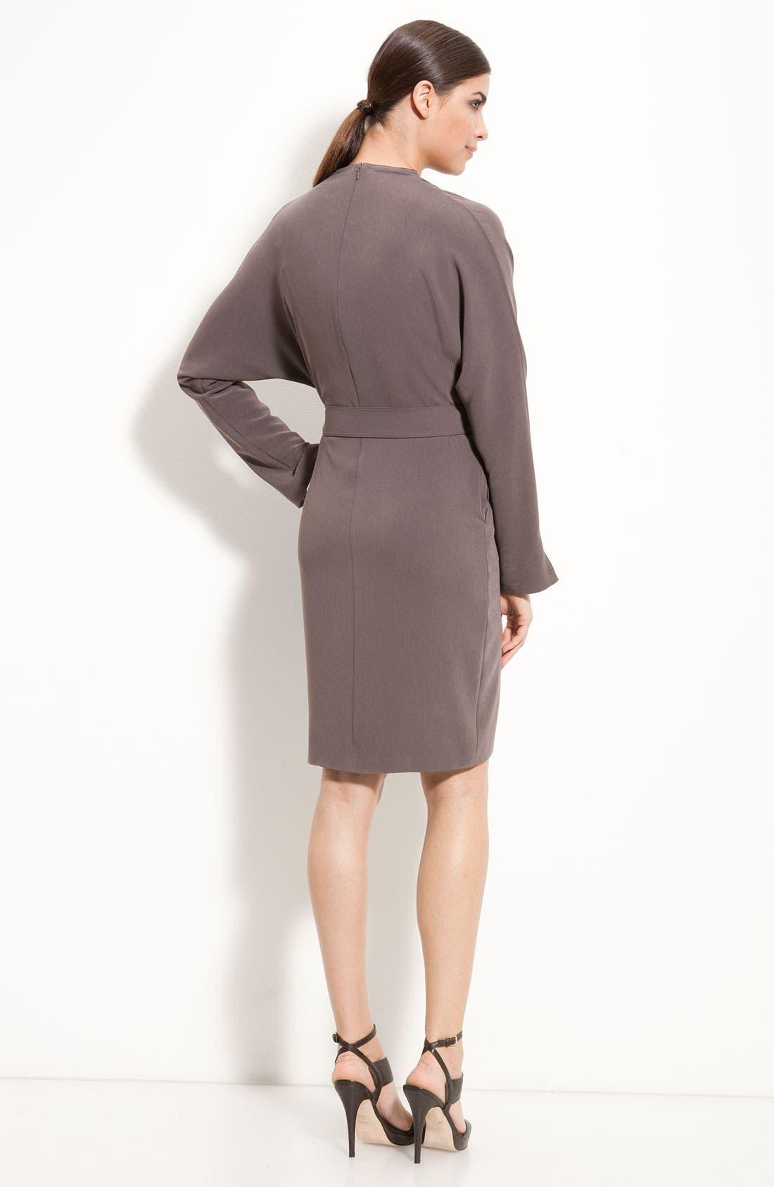 Alternate Image 2  - St. John Collection Batwing Sleeve Dress