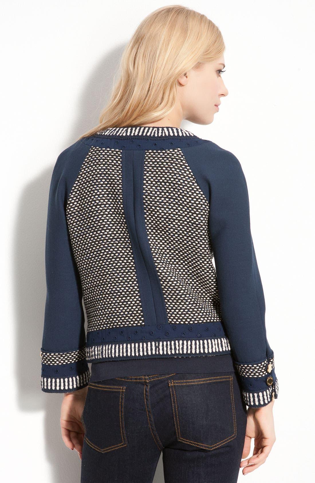 Alternate Image 2  - Tory Burch 'Leandra' Crop Jacket