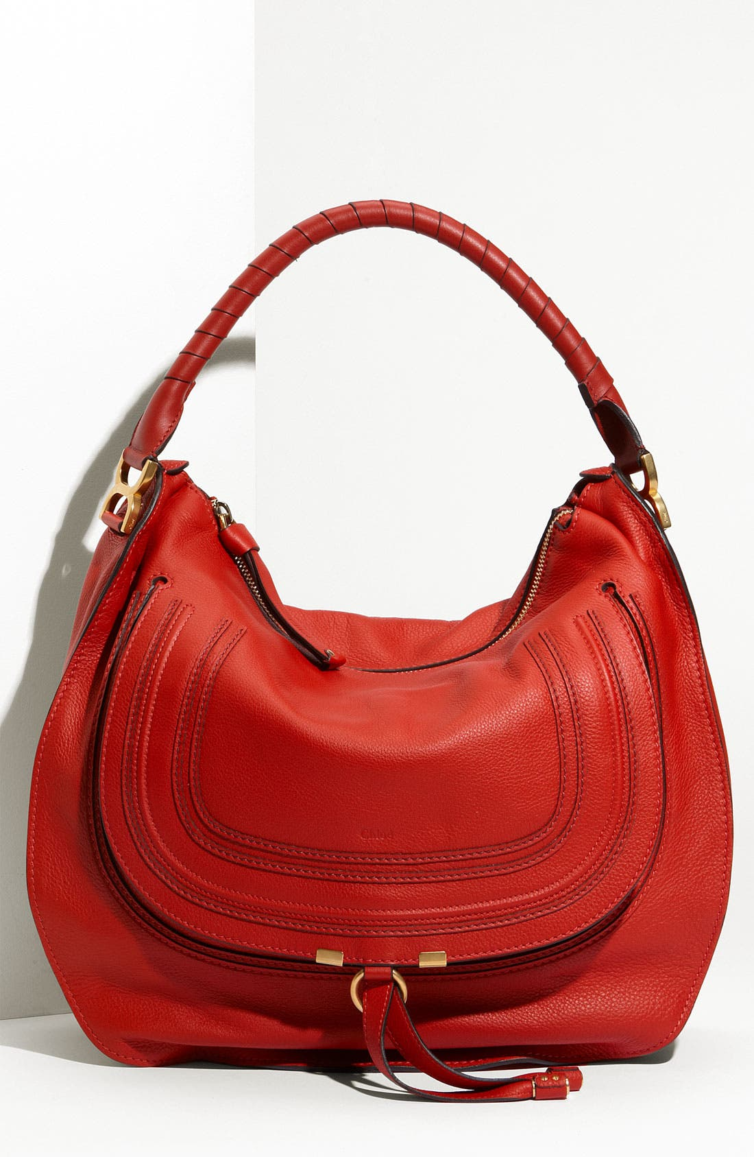 Main Image - Chloé 'Marcie - Large' Leather Hobo