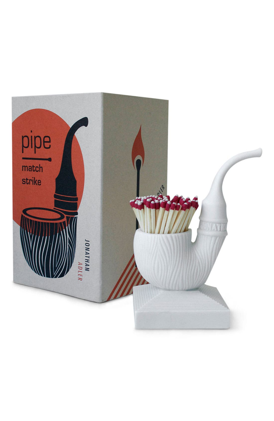 Alternate Image 1 Selected - Jonathan Adler 'Pipe' Porcelain Match Strike