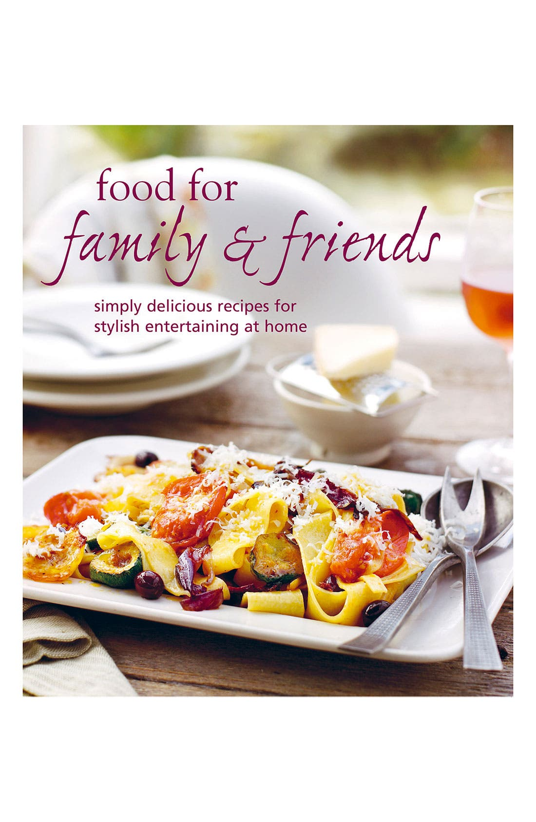 Alternate Image 1 Selected - 'Food For Family & Friends' Cookbook