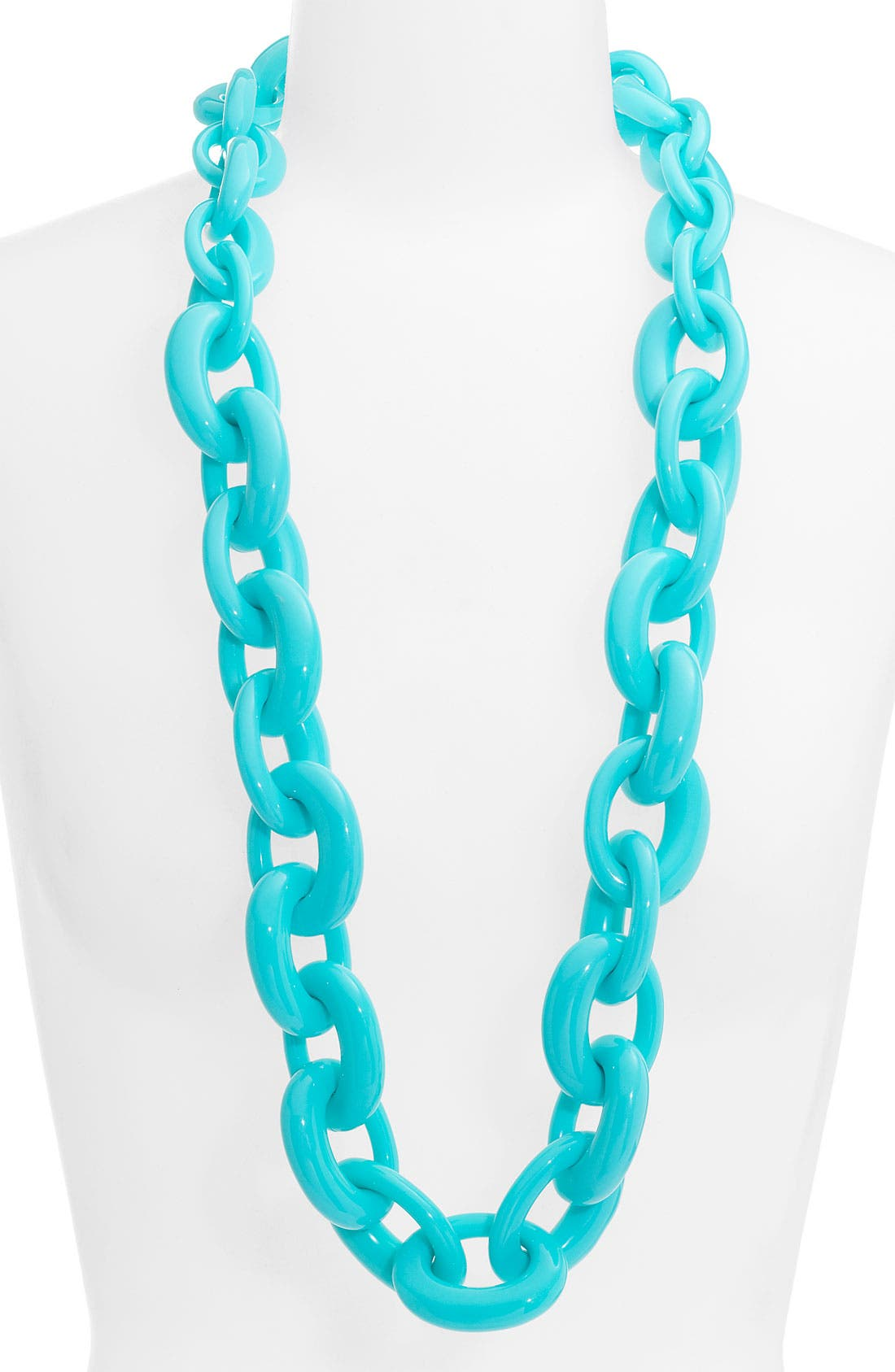 Alternate Image 1 Selected - Tory Burch Oval Link Necklace