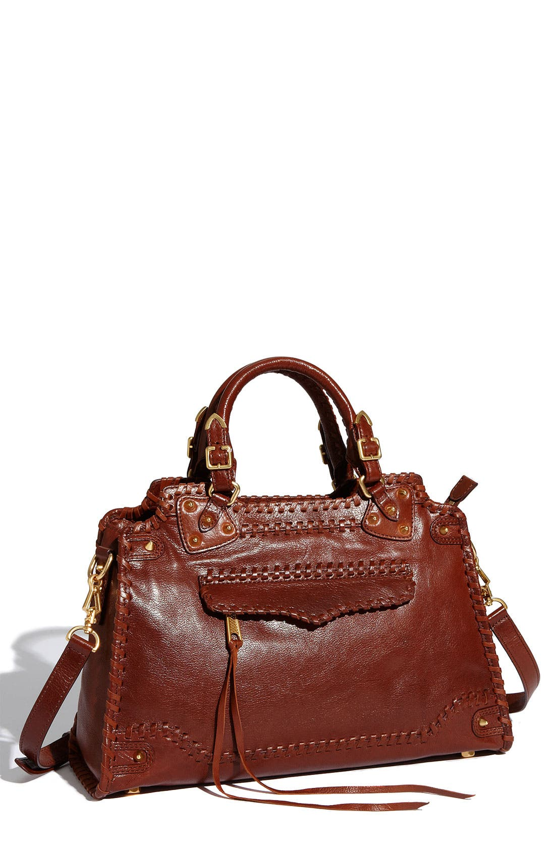 Alternate Image 1 Selected - Rebecca Minkoff 'Desire' Whipstitch Satchel