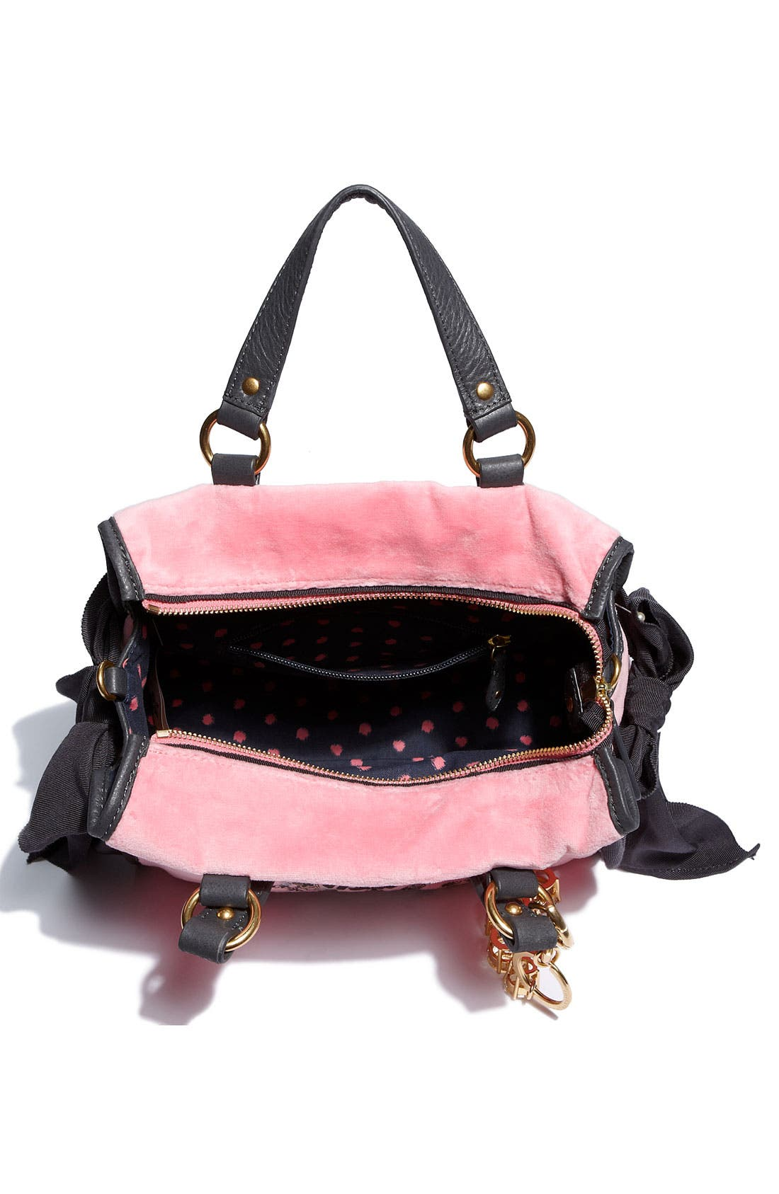 Alternate Image 3  - Juicy Couture 'The Cameo Miss Daydreamer - Small' Velour Tote