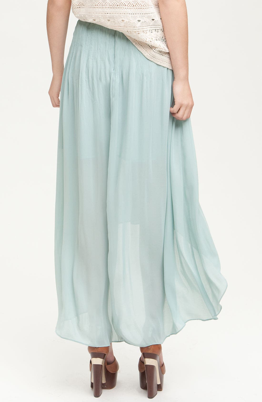 Alternate Image 2  - Sanctuary 'Leotie' Crinkled Asymmetric Maxi Skirt