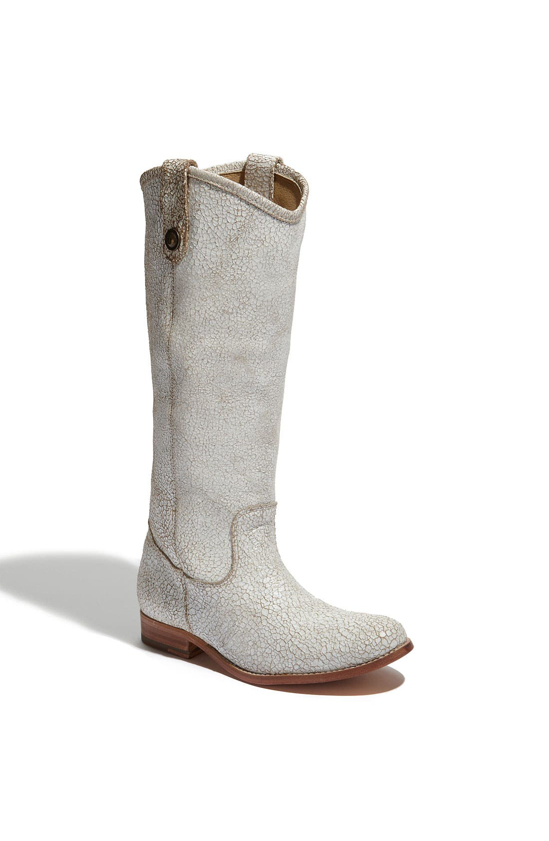 Main Image - Frye 'Melissa Button' Crackled Leather Boot