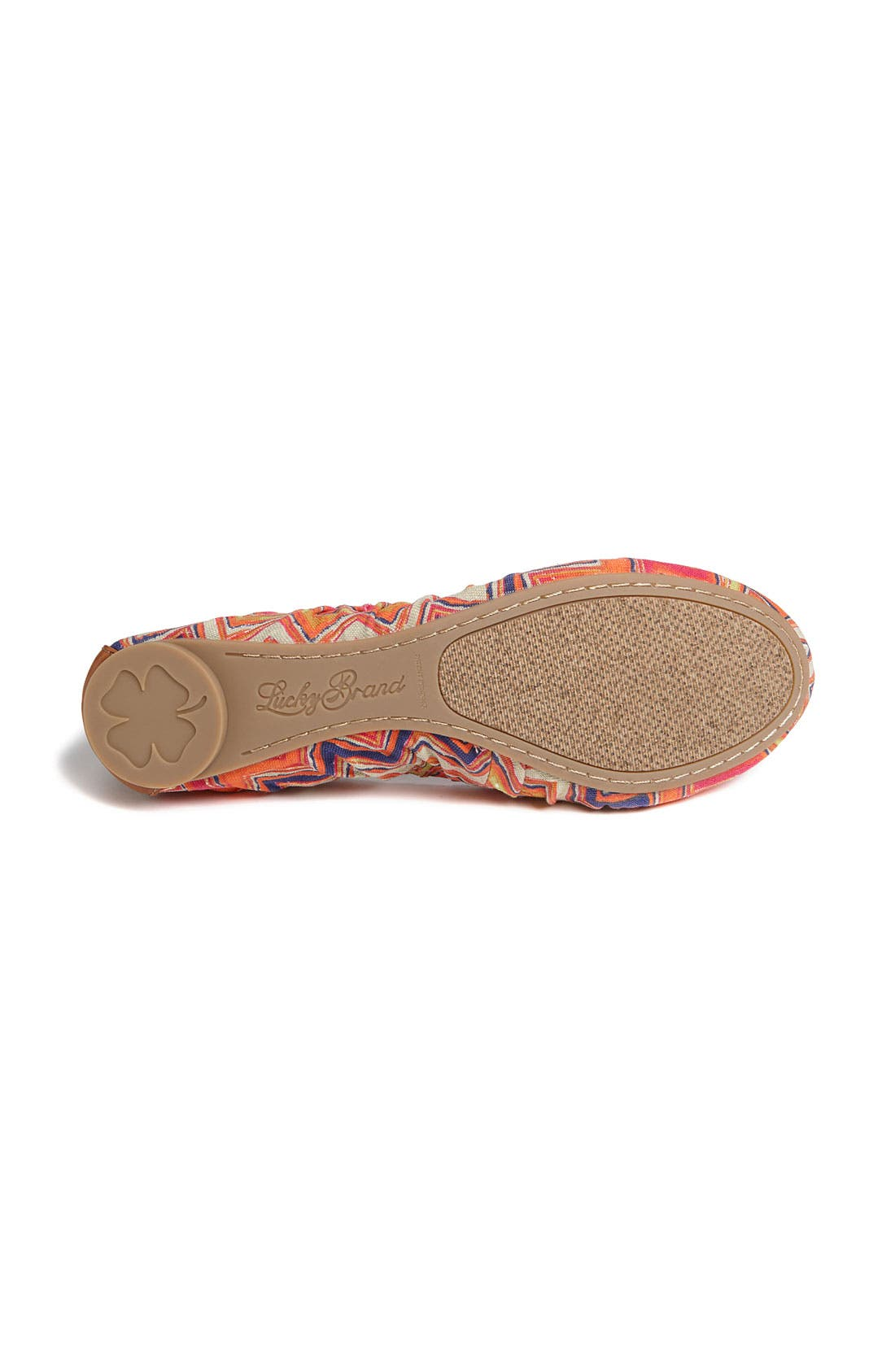 Alternate Image 4  - Lucky Brand 'Erla' Flat (Exclusive Color)