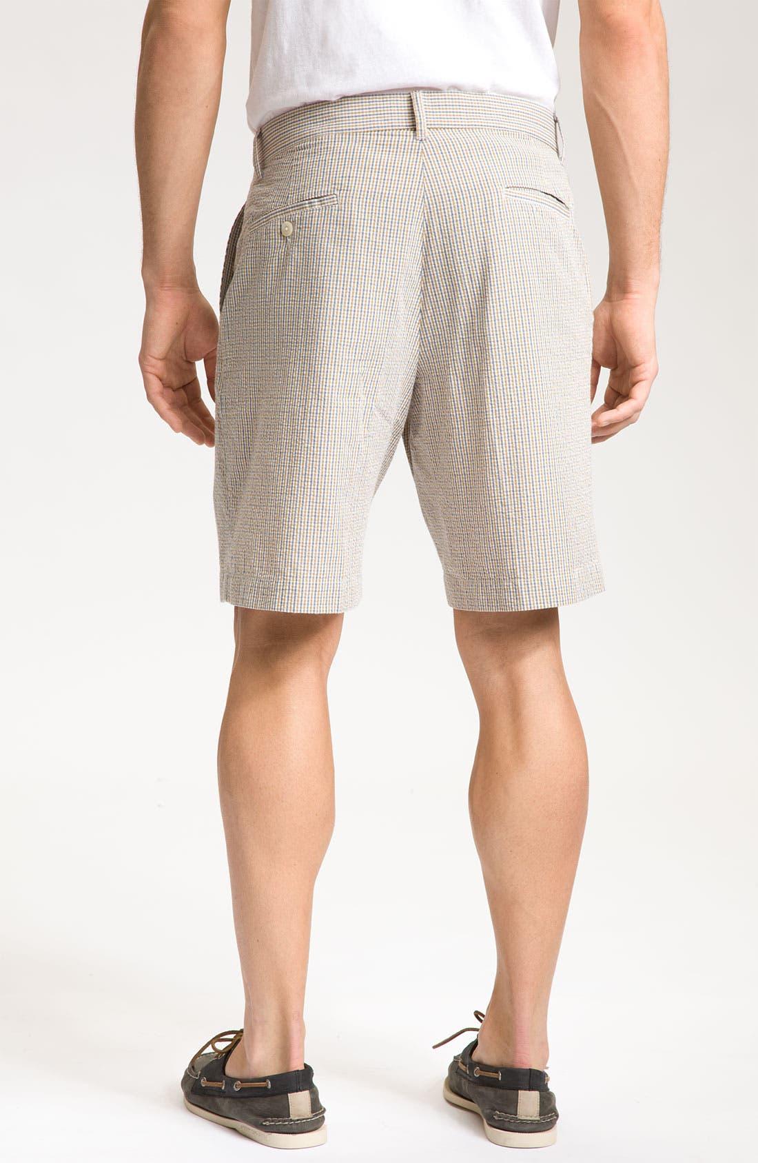 Alternate Image 2  - Bill's Khakis 'Parker' Micro Check Shorts
