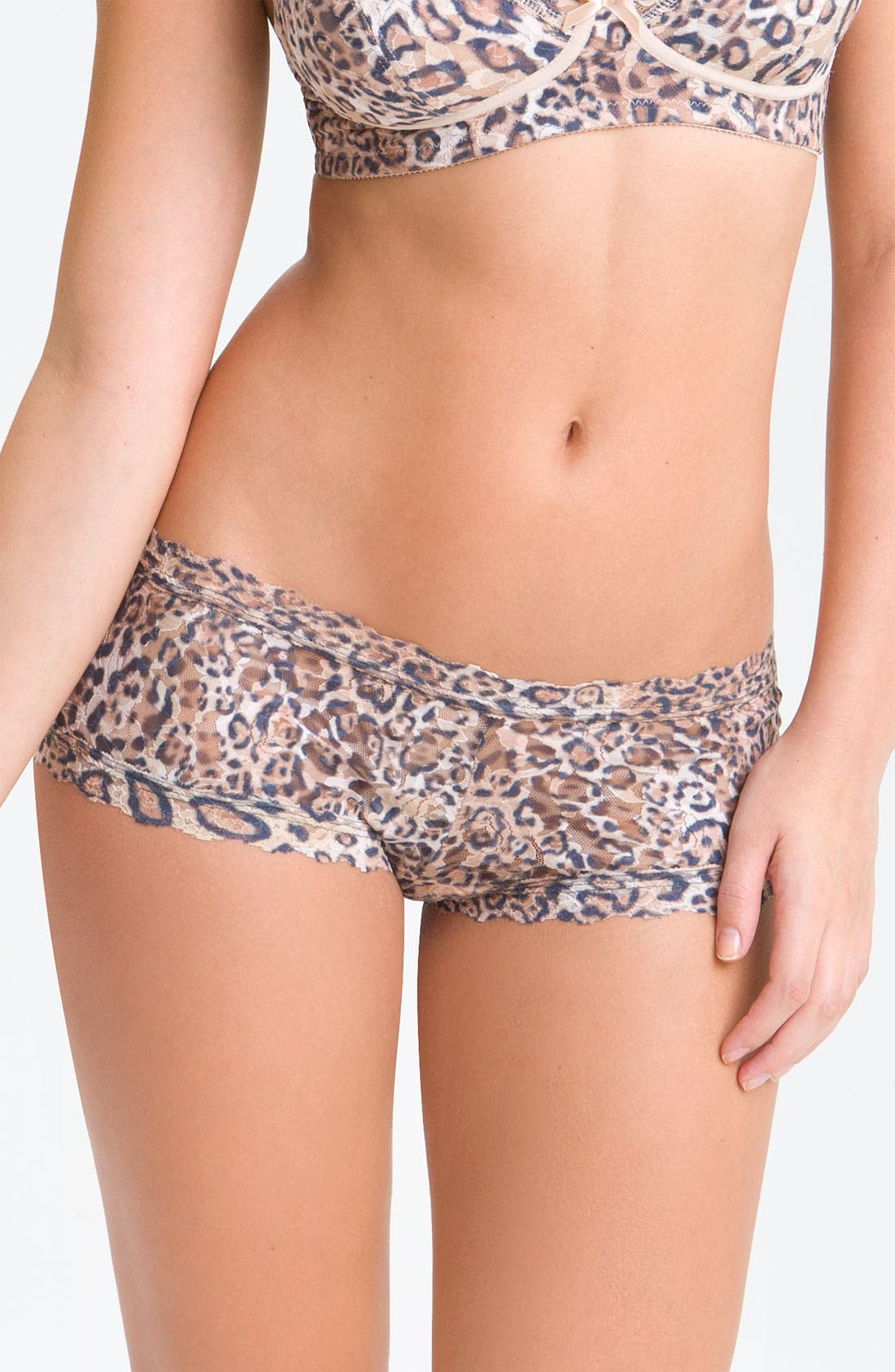 Alternate Image 1 Selected - Hanky Panky 'Leopard' Boyshorts