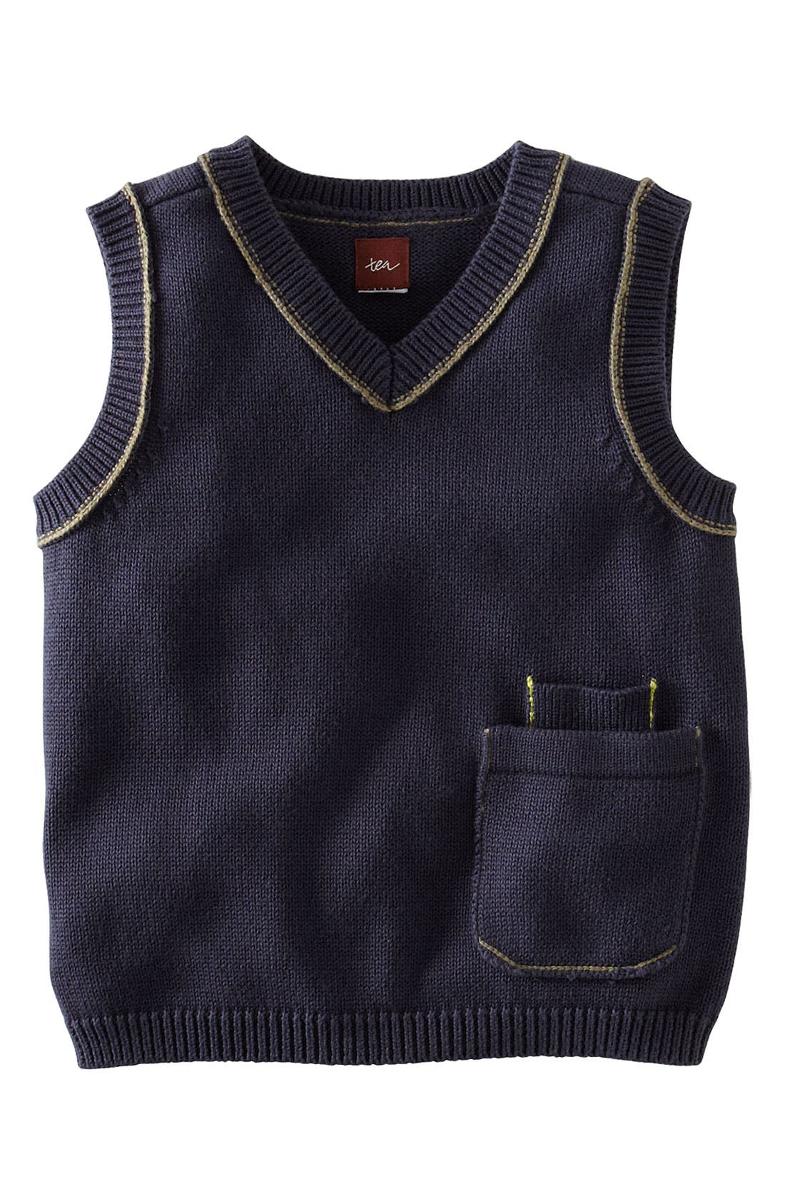 Alternate Image 1 Selected - Tea Collection 'Perfect Pocket' Vest (Infant)