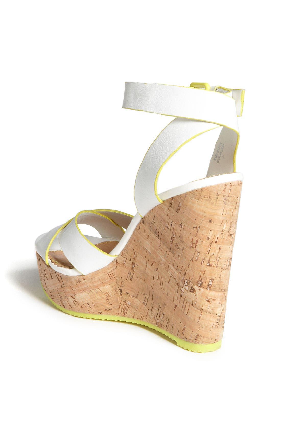 Alternate Image 2  - ALDO 'Brimfield' Wedge Sandal