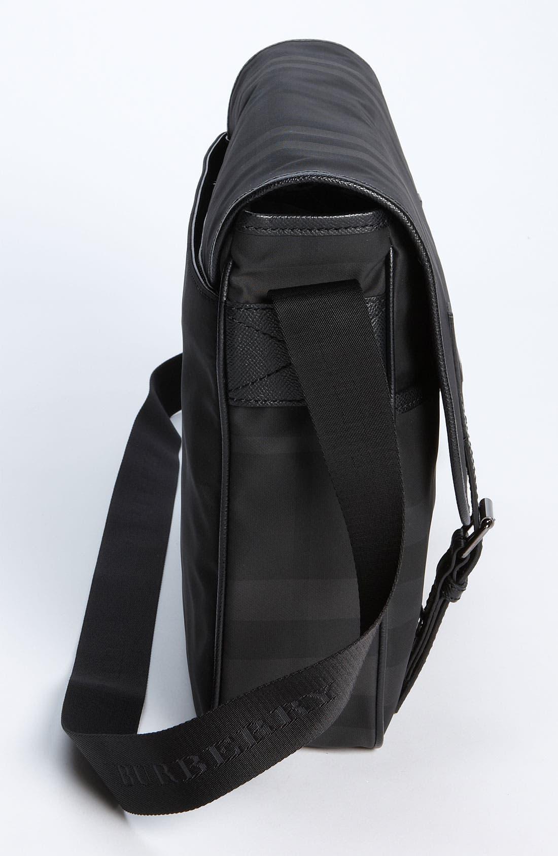 Alternate Image 3  - Burberry Medium Check Messenger Bag