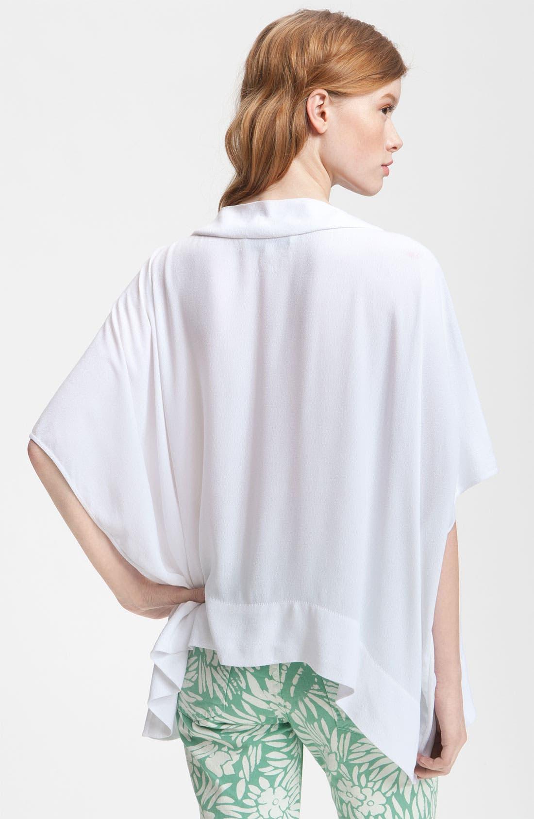 Alternate Image 2  - Diane von Furstenberg 'New Hanky' Asymmetrical Hem Top
