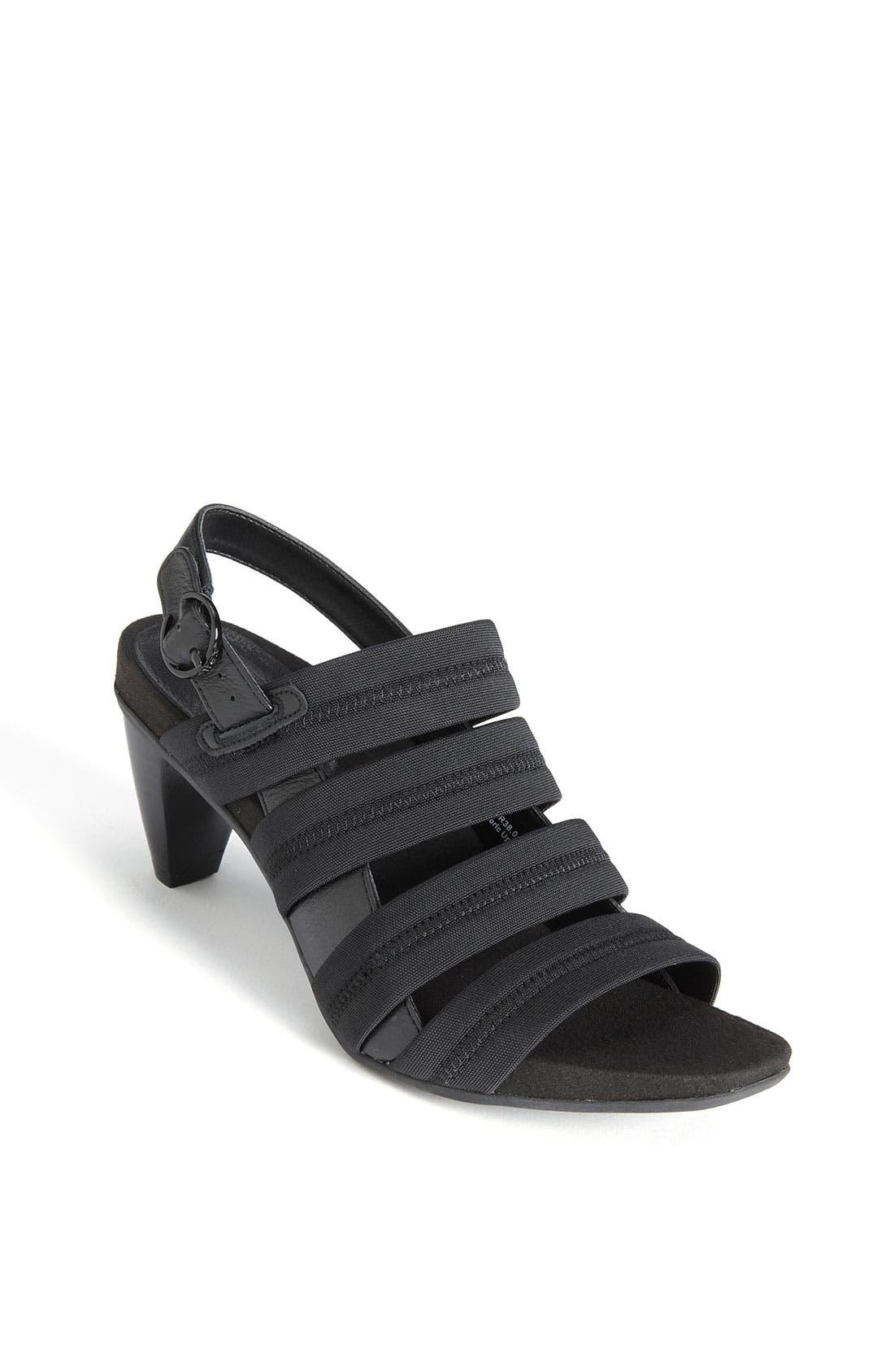 Alternate Image 1 Selected - Aetrex 'Veronica' Sandal
